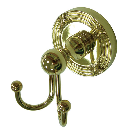 Kingston Brass Polished Brass Georgian wall mounted robe / towel hook BA9317PB