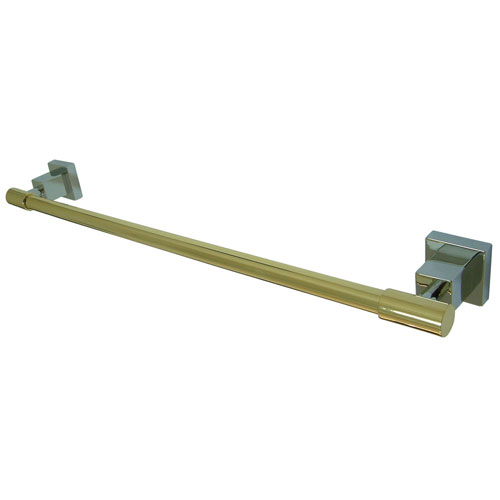Kingston Brass Claremont Chrome / Polished Brass 24