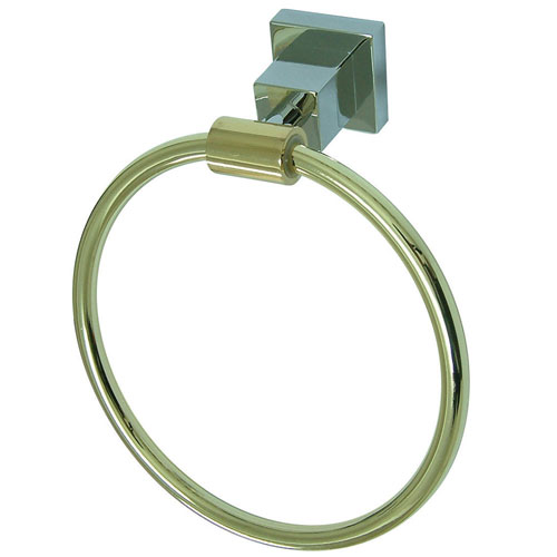 Kingston Brass Claremont Chrome / Polished Brass 6