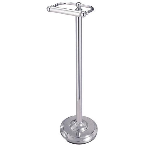 Kingston Brass Chrome pedestal freestanding Toilet Paper Holder CC2001
