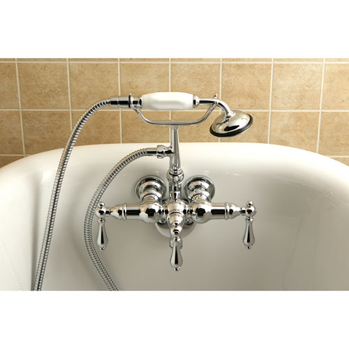 Examples Of Wall Mount Clawfoot Tub Faucets