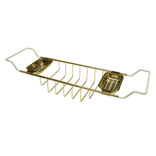 Kingston Brass Polished Brass Clawfoot Tub Bath Tub Shelf Soap Caddy CC2152