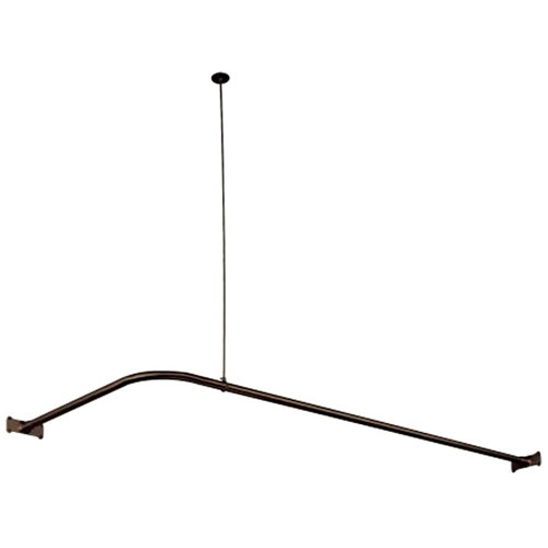 Kingston Brass Oil Rubbed Bronze Shower Enclosure Corner Rod CC3145