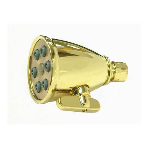 Bathroom fixtures Polished Brass Adjustable Spray Shower Head CK138A2