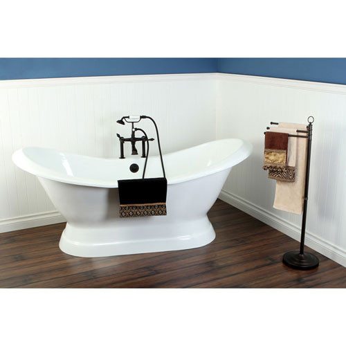 72 Freestanding Tub With Oil Rubbed Bronze Tub Faucet Hardware Pa