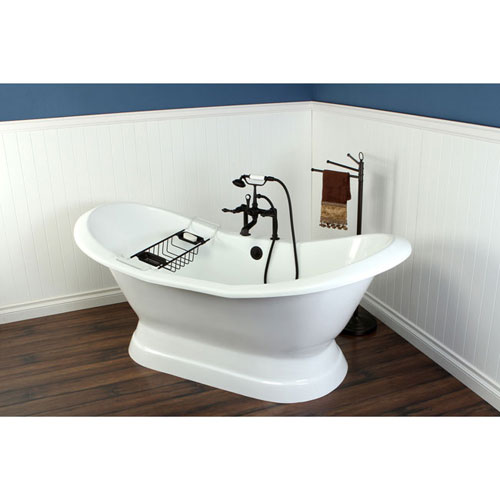 72 Quot Freestanding Tub With Oil Rubbed Bronze Tub Faucet
