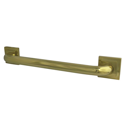 Kingston Grab Bars - Polished Brass Claremont 18