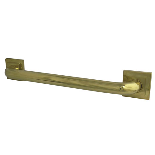 Kingston Grab Bars - Polished Brass Claremont 32