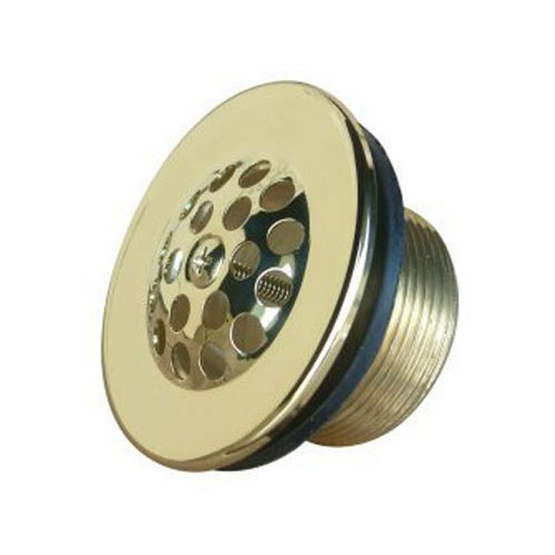 Kingston Brass Polished Brass Made to Match Tub Drain Strainer & Grid DTL202