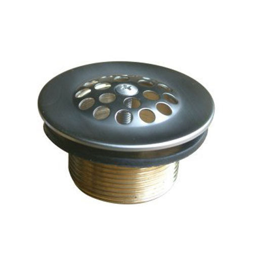 Kingston Brass Satin Nickel Made to Match Tub Drain Strainer & Grid DTL208