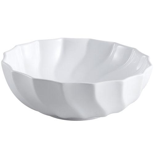 Kingston Odyssey White China Vessel Bathroom Sink without Overflow Hole EV9143