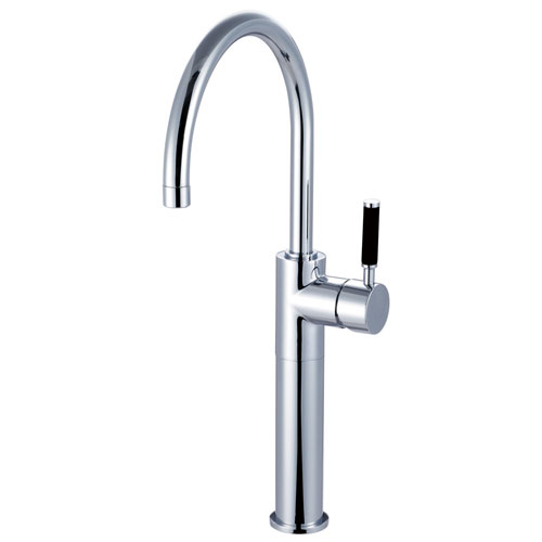 Kingston Brass Kaiser Chrome Single Handle Bathroom Vessel Sink Faucet FS8031DKL