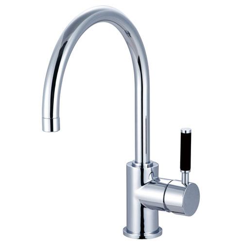 Kingston Brass Kaiser Chrome Single Handle Bathroom Vessel Sink Faucet FS8231DKL