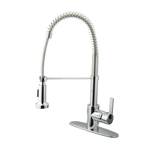 Kingston Chrome one Handle Pre-rinse Commercial style Kitchen Faucet GS8881CTL