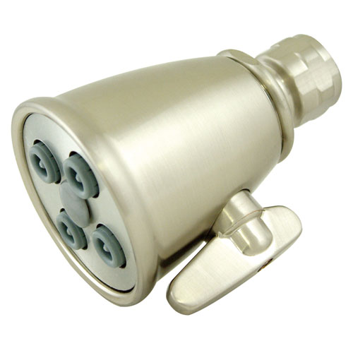 Bathroom fixtures Satin Nickel 4 Jet Adjustable Spray Shower Head K137A8