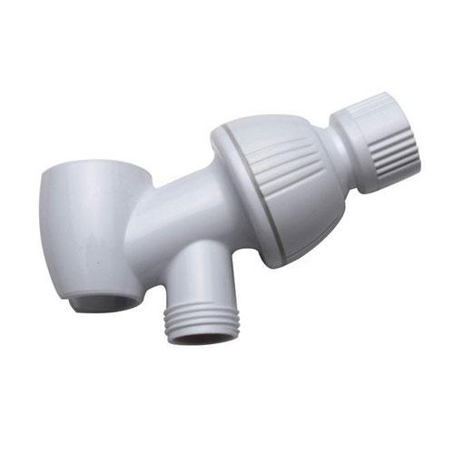 Kingston Bathroom Accessories White Plumbing parts Shower Arm Bracket K170W1