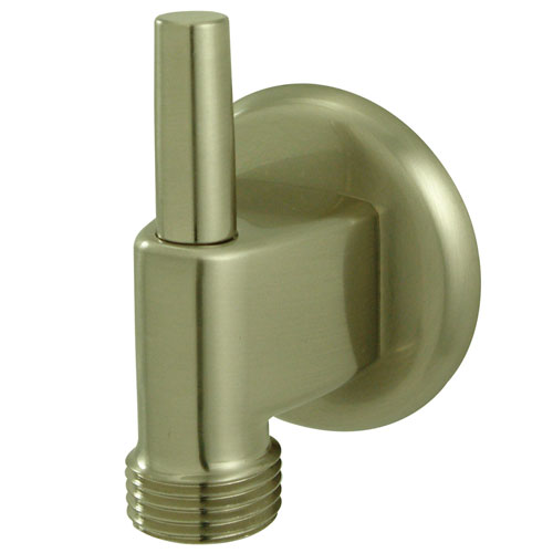 Kingston Bathroom Accessories Satin Nickel Brass Supply Elbow with Pin K174A8