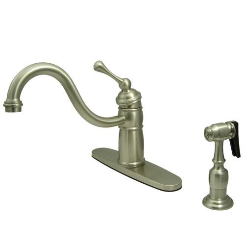Kitchen Faucet Integrated Supply Lines