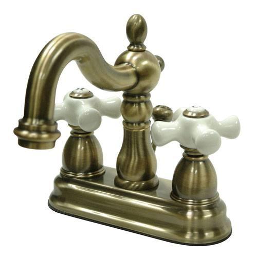 Kingston Vintage Brass 2 Handle 4