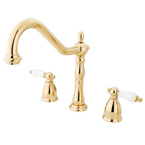 Kingston Brass Polished Brass 8