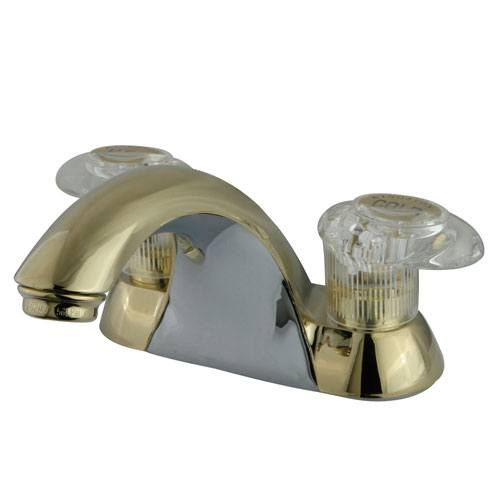 Kingston Brass Polished Brass 2 Handle 4