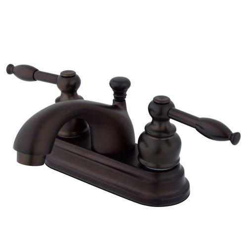 Kingston Oil Rubbed Bronze 2 Handle 4