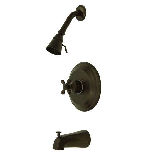 Metropolitan Oil Rubbed Bronze 1 Handle Tub & Shower Combo Faucet KB2635BX