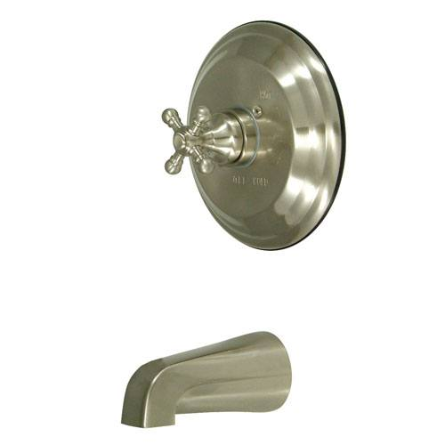 Kingston Satin Nickel English Vintage Single Handle Tub Only Faucet KB2638BXTO