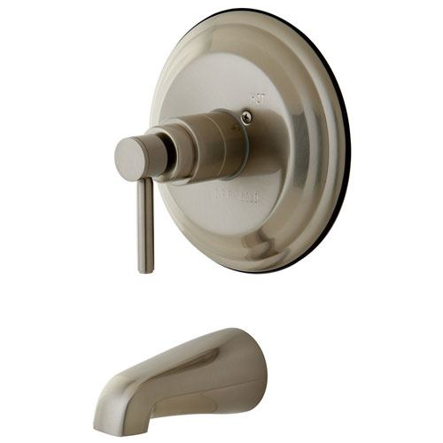 Kingston Brass Concord Satin Nickel Single Handle Tub Only Faucet KB2638DLTO