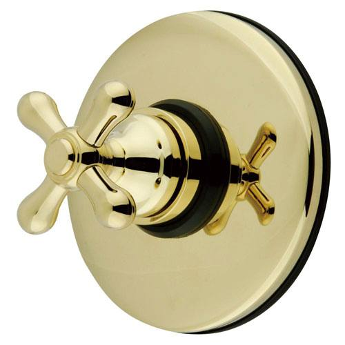 Kingston Polished Brass Wall Volume Control Valve for Shower Faucet KB3002AX