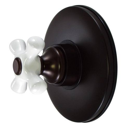 Kingston Oil Rubbed Bronze Wall Volume Control Valve for Shower Faucet KB3005PX