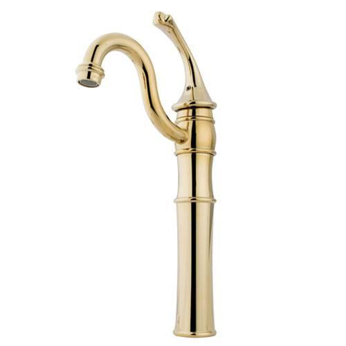 Kingston Brass Polished Brass Georgian vessel sink bathroom faucet KB3422GL
