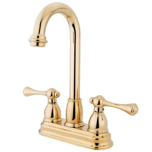 Kingston Brass Polished Brass Two Handle 4