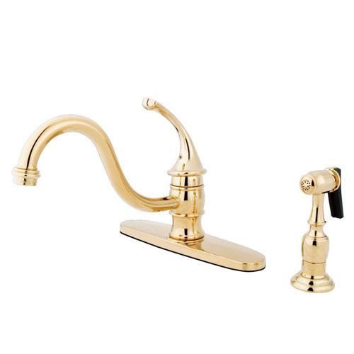Kingston Polished Brass Georgian 8
