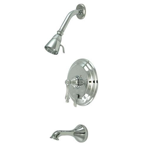 Restoration Chrome Single Handle Tub & Shower Combination Faucet KB36310AL