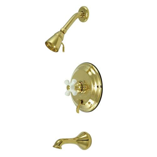 Polished Brass Single Handle Tub and Shower Combination Faucet KB36320PX