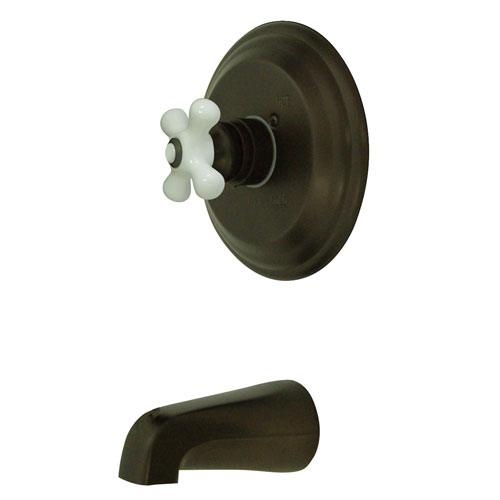 Kingston Vintage Oil Rubbed Bronze Single Handle Tub Only Faucet KB3635PXTO