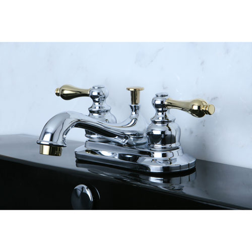 Kingston Chrome/Polished Brass 4