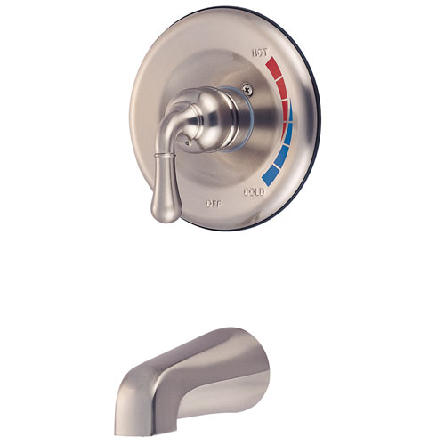 Kingston Brass Magellan Satin Nickel Single Handle Tub Only Faucet KB638TO