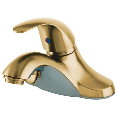 Kingston Polished Brass Single Handle 4