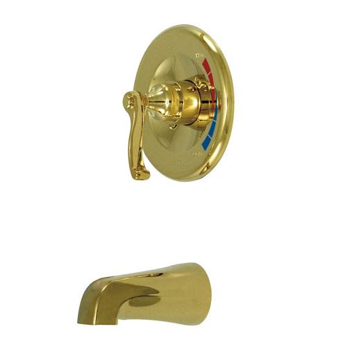 Kingston Brass Royale Polished Brass Single Handle Tub Only Faucet KB8632FLTO