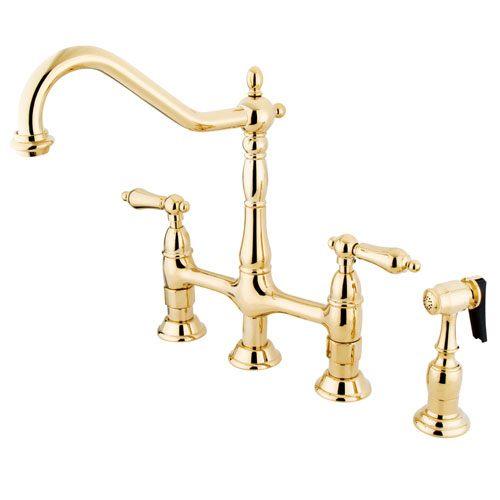 Kingston Polished Brass 8