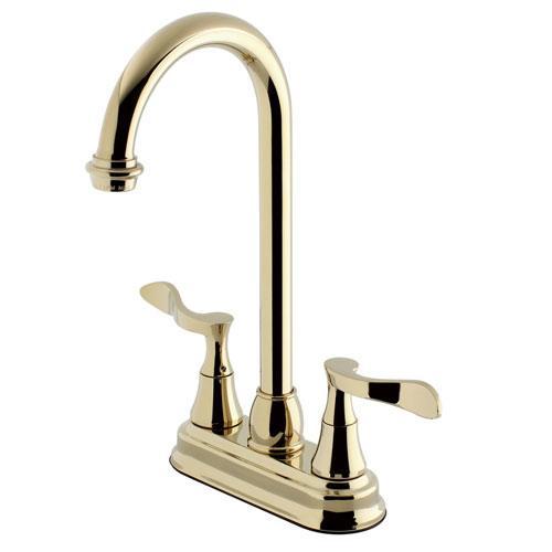 Kingston Brass Century Polished Brass 4