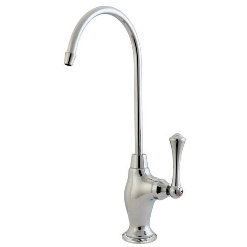 Kingston Brass Chrome English Vintage 1/4 Turn Water Filter Faucet KS3191BL