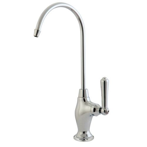 Kingston Brass Chrome Magellan design 1/4 turn water filtration faucet KS3191NML
