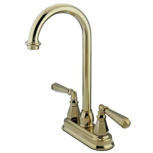 Kingston Polished Brass Two Handle 4
