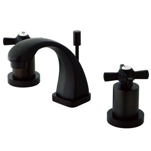 Kingston Brass KS4945ZX Mini Widespread Bathroom Faucet Oil Rubbed Bronze
