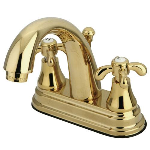Kingston Polished Brass French Country 4