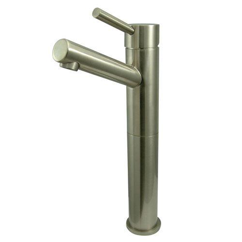 Kingston Brass Concord Satin Nickel Single Handle Vessel Sink Faucet KS8418DL