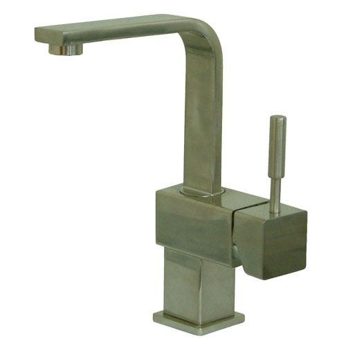Kingston Concord Satin Nickel 1 Handle Bathroom Faucet w/ Push-up Drain KS8468DL